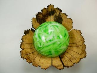 Kokosschale und Gute Laune Seife Maiglöckchen